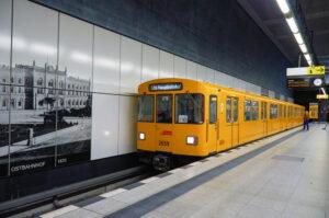 фото метро Берлина