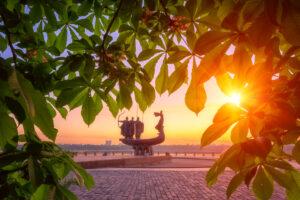 В Киеве наступило метеорологическое лето