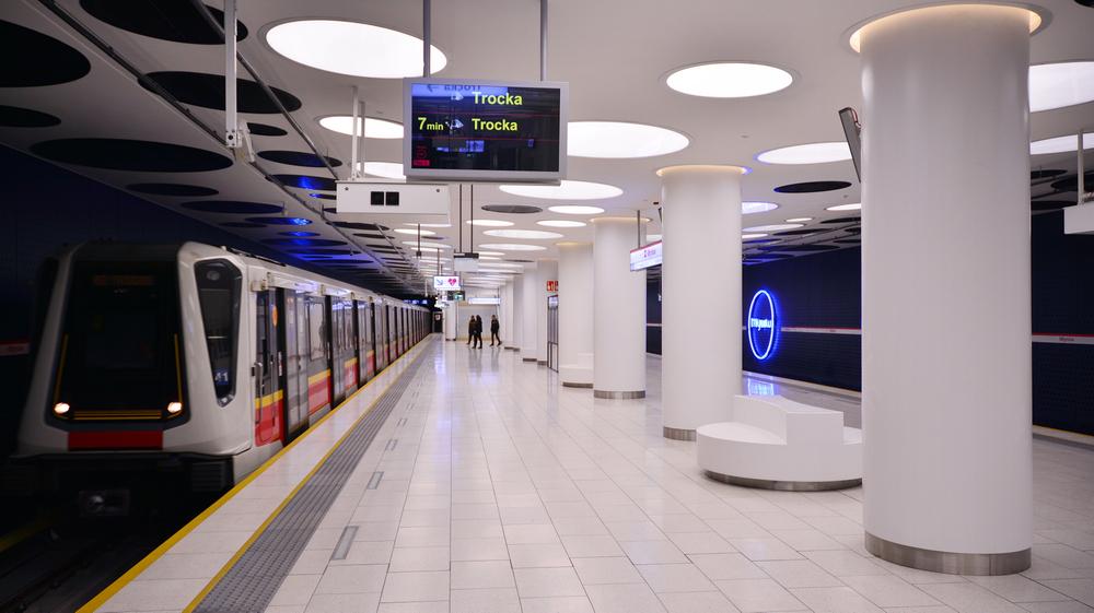 метро Варшава фото