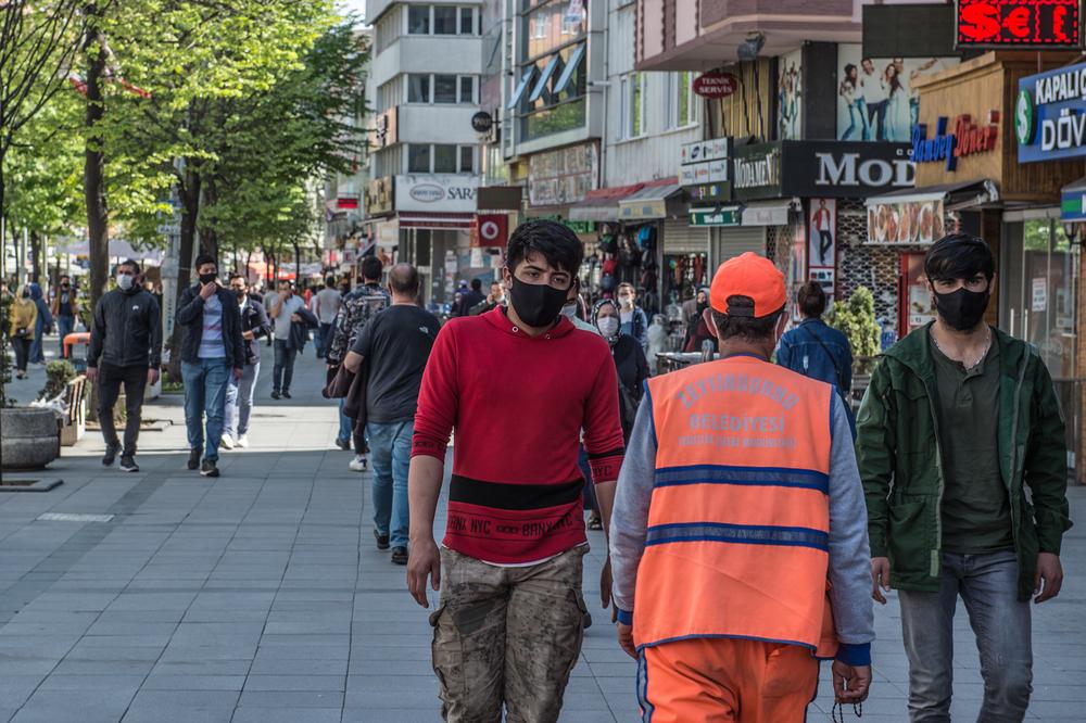 В Стамбуле будут штрафовать на $ 130 за отсутствие маски