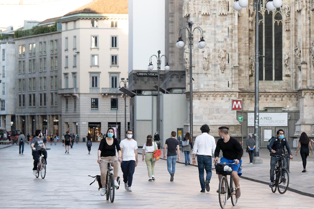 Власти Италии учредили субсидии для покупателей велосипедов