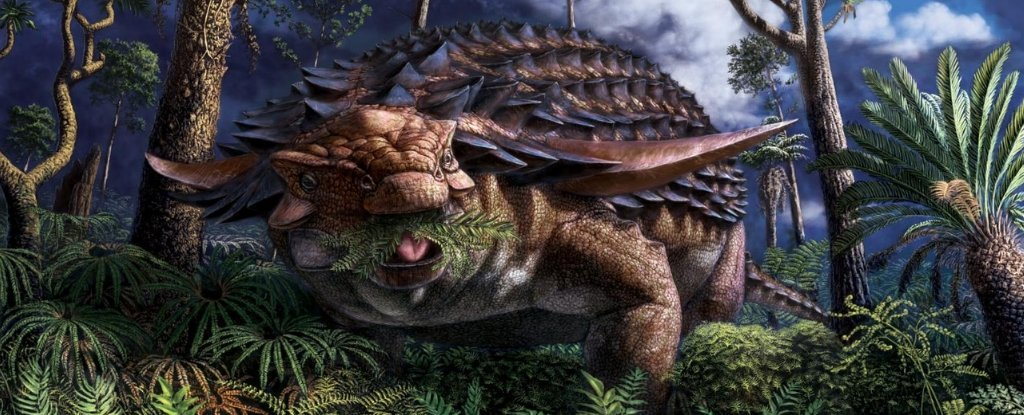 Ученые определили, чем отобедал динозавр 110 миллионов лет назад
