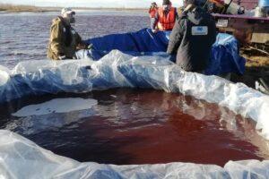 В России произошел масштабный разлив нефти: на очистку могут уйти десятилетия