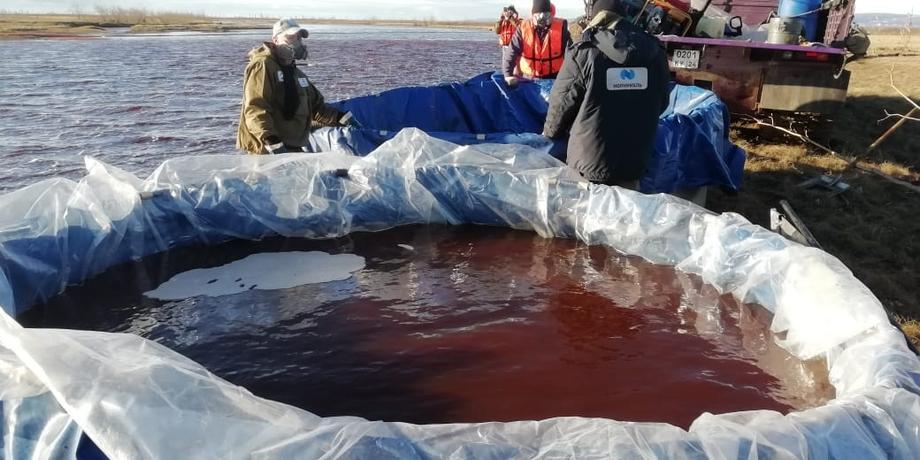 В России произошел масштабный разлив нефти: на очистку могут уйти десятилетия.Вокруг Света. Украина
