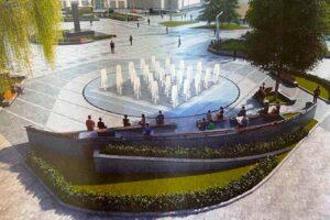 В Луцке можно заказать персональный фонтан