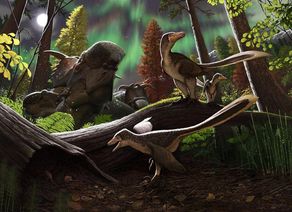 На Аляске обнаружен новый вид динозавров.Вокруг Света. Украина