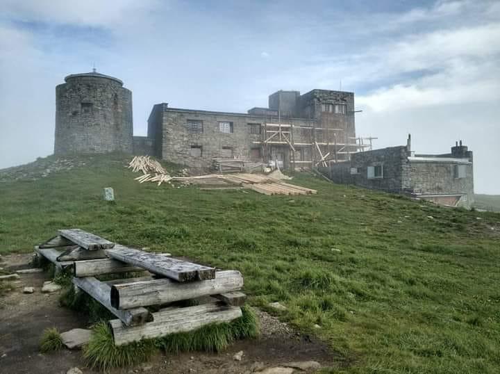 Обсерваторию «Белый слон» на горе Поп-Иван начали ремонтировать