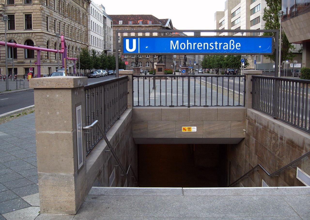 В Берлине переименуют станцию метро