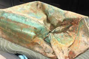 В США при демонтаже памятника обнаружили капсулу времени 19 века