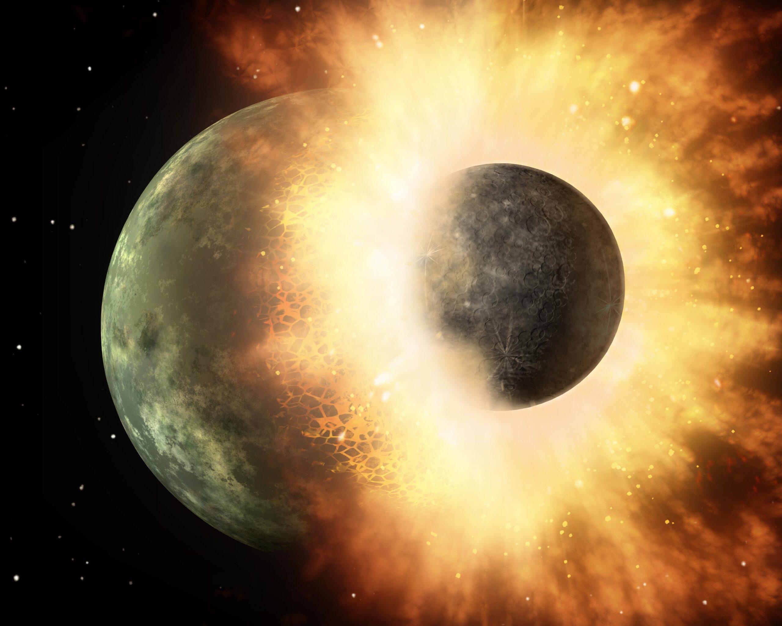 Давно сложившуюся теорию о формировании Луны подвергли сомнению.Вокруг Света. Украина