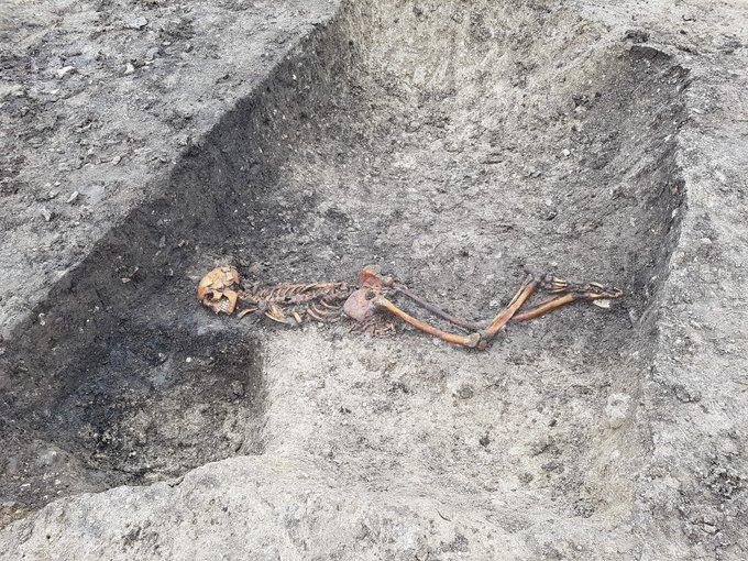 В Англии нашли следы ритуального убийства железного века
