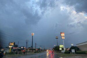 На Техас обрушился мощный ураган Ханна
