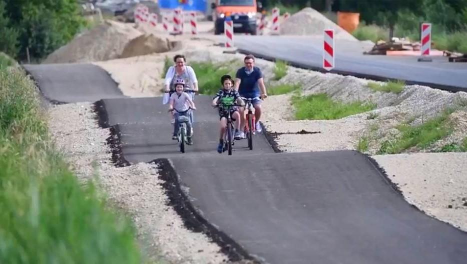 В Баварии проложили волнистую велодорожку.Вокруг Света. Украина