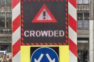 Амстердам из-за толпы закрыл часть квартала красных фонарей