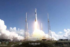 Ракета Falcon 9 установила мировой рекорд