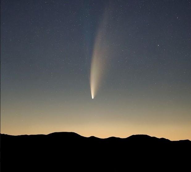 Как наблюдать комету NEOWISE