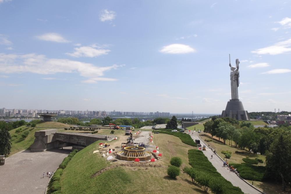 На Печерске установят самый большой флаг Украины