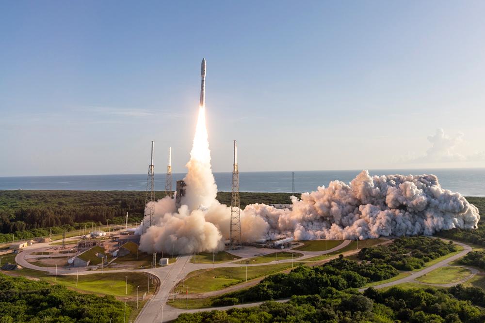 NASA запустило свой новый марсоход Perseverance (видео)