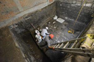 В центре Мехико нашли остатки дворца ацтеков