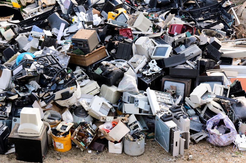 В 2019 году человечество произвело 52,7 млн тонн электронных отходов