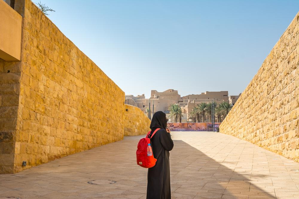 В Саудовской Аравии разрешили женщине путешествовать одной.Вокруг Света. Украина