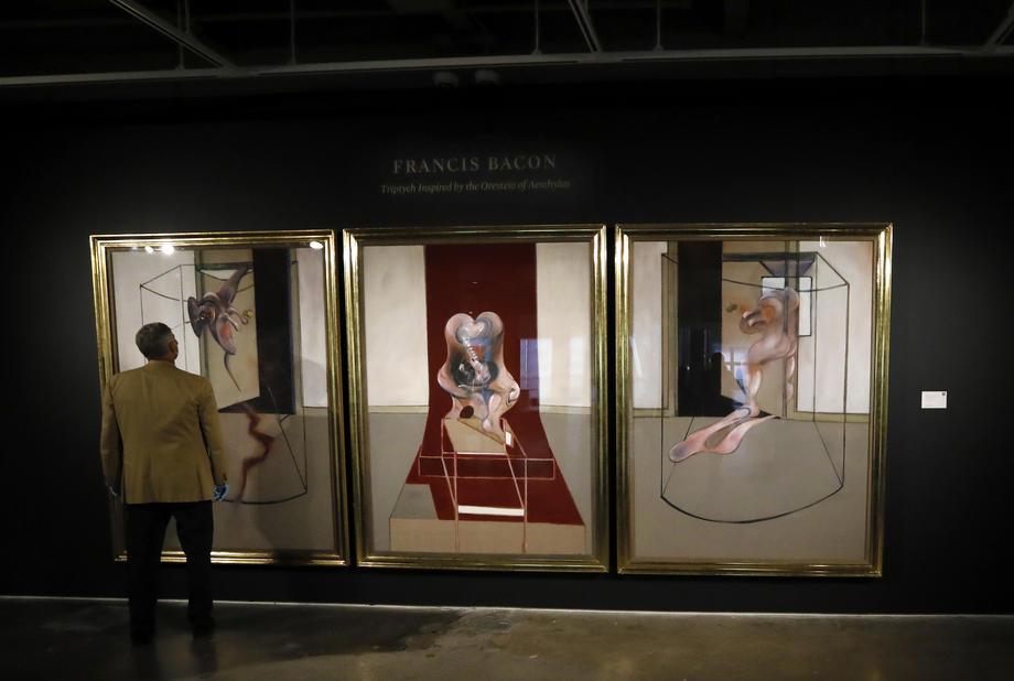 На онлайн-аукционе триптих Фрэнсиса Бэкона ушел за $84,6 млн