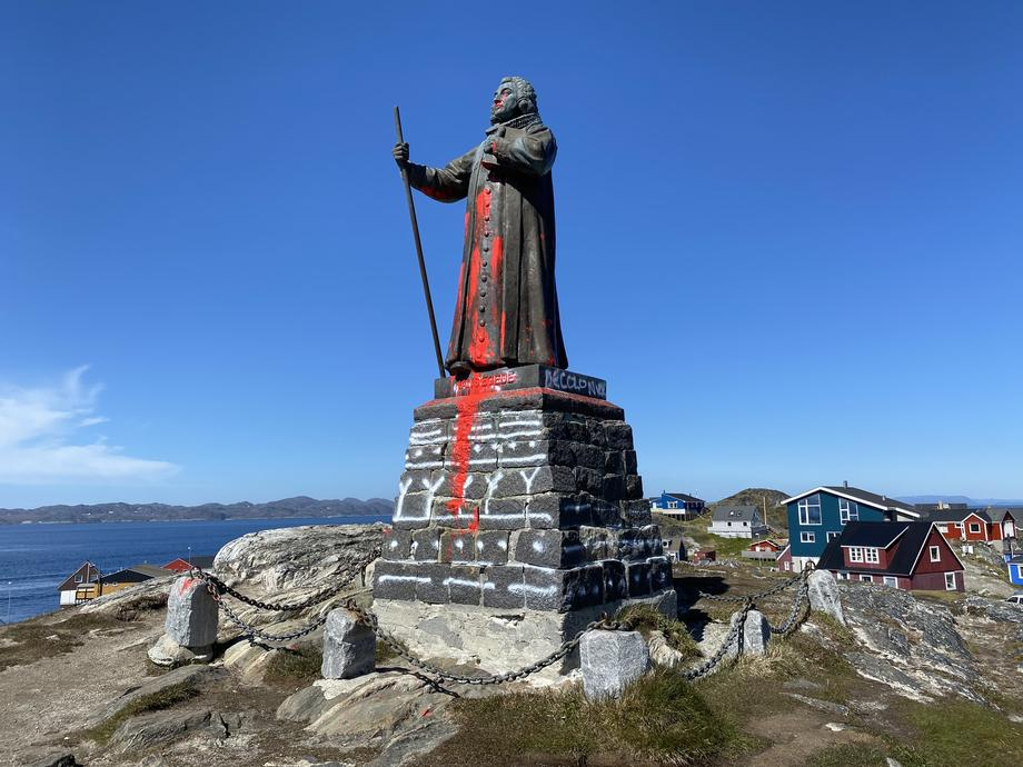 В Гренландии голосованием решают судьбу статуи.Вокруг Света. Украина