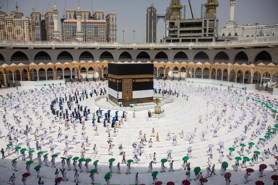 В Саудовской Аравии начался самый малолюдный хадж в истории страны