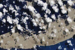 Пемзовый остров переплыл океан и добрался до Австралии