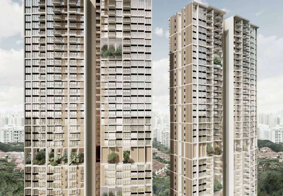 В Сингапуре вырастут два высочайших сборных здания в мире