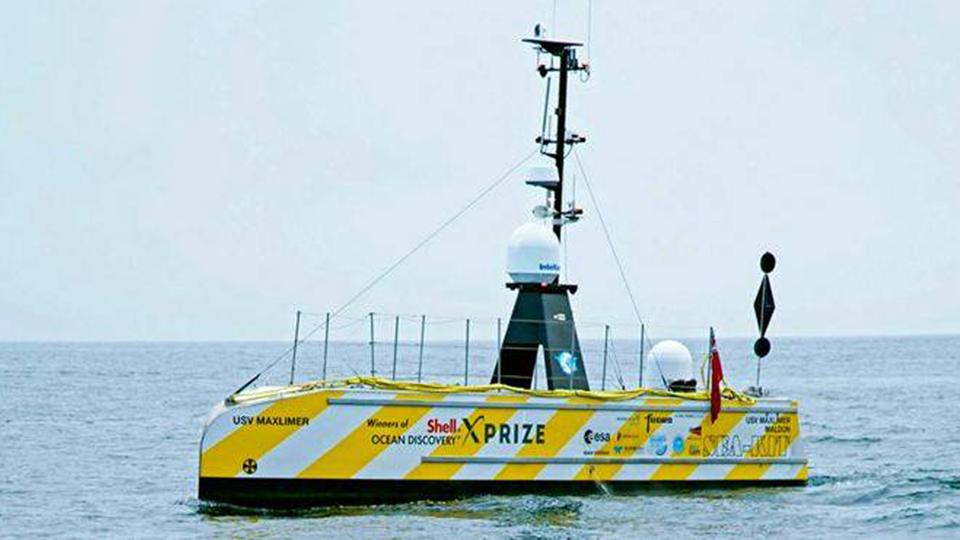 Лодка-робот завершила трехнедельное картирование Атлантики