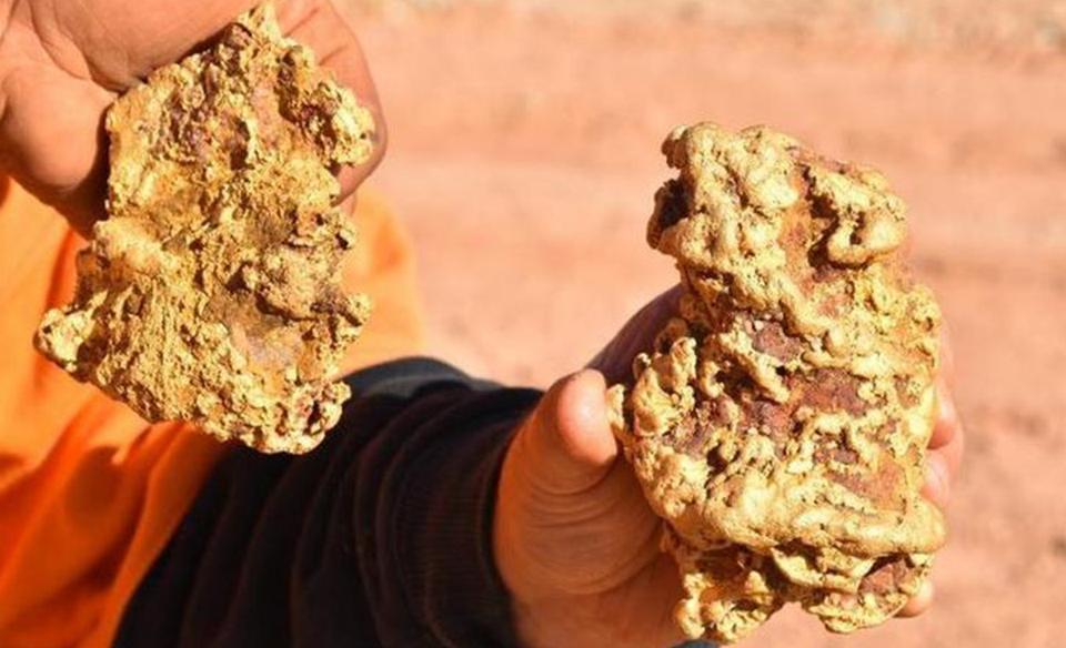 В Австралии нашли два огромных золотых самородка на $250 000.Вокруг Света. Украина