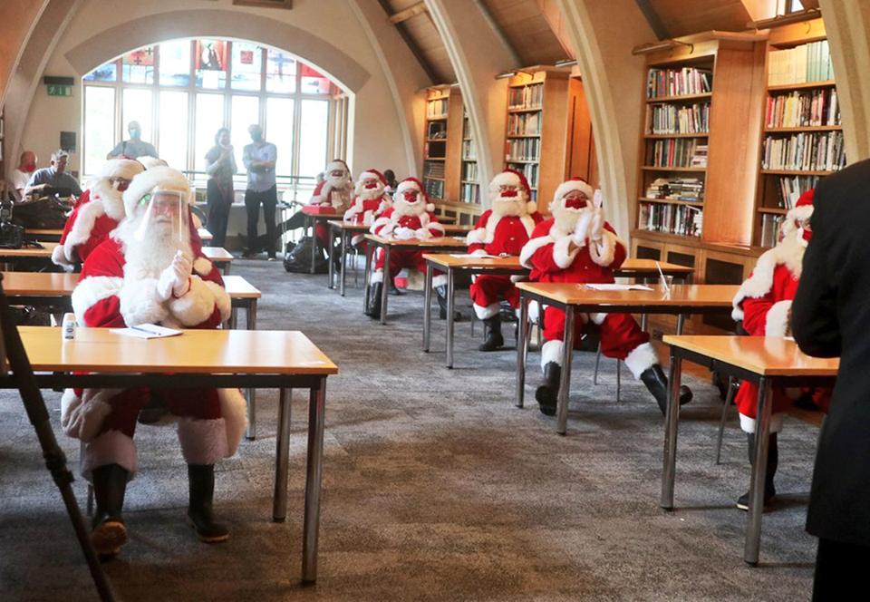 Лондонская школа для Сант разработала правила безопасного Рождества.Вокруг Света. Украина