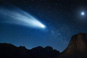Астрономы нашли астероид, превращающийся в комету