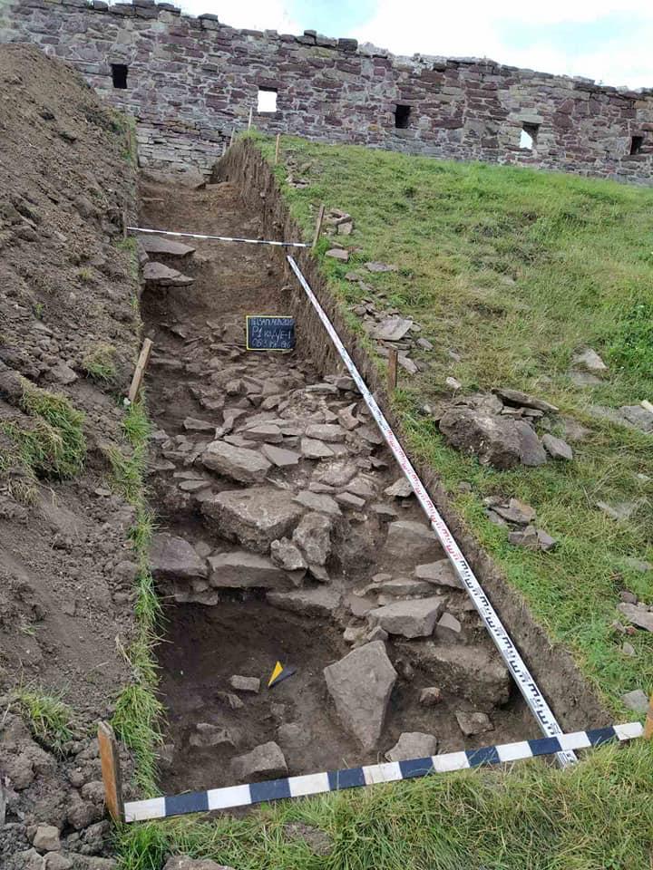 В украинском средневековом замке обнаружили поселение трипольцев