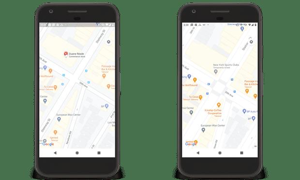Карты Google стали более точными