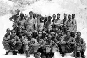 Редкие фото из экспедиций Эдмунда Хиллари к вершине Эвереста