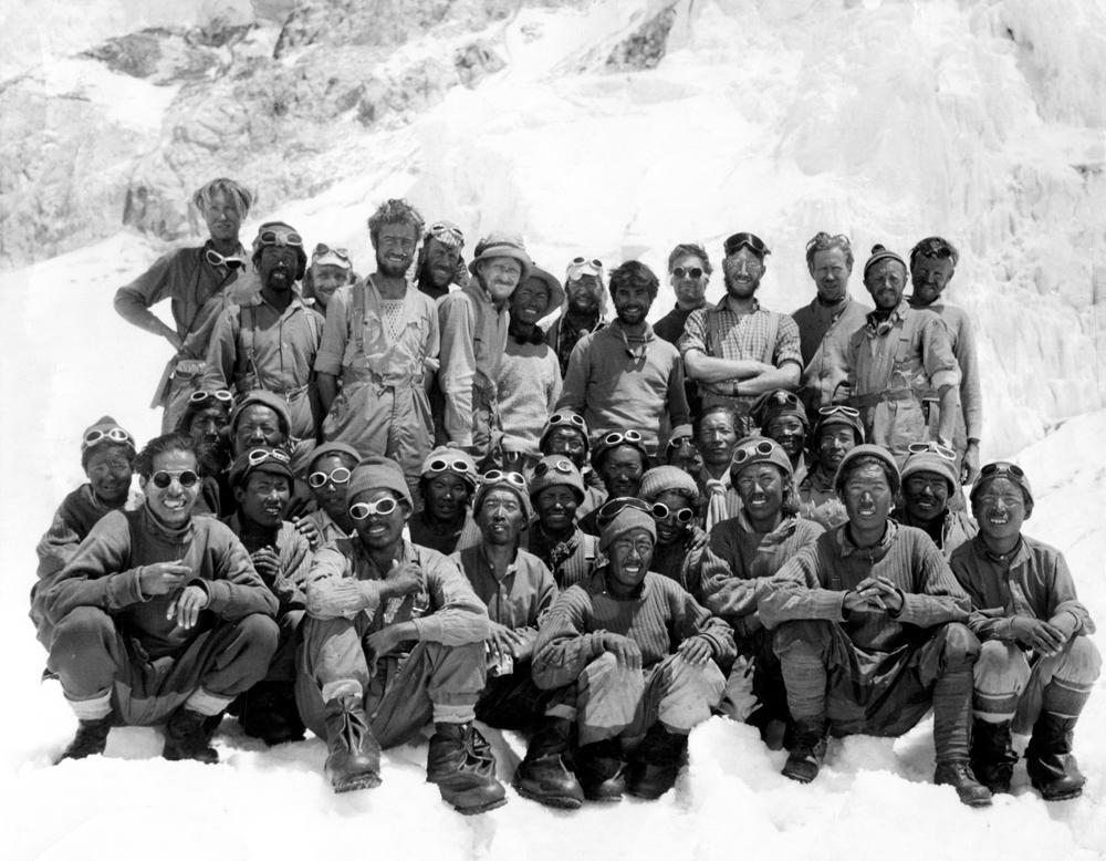 Редкие фото из экспедиций Эдмунда Хиллари к вершине Эвереста.Вокруг Света. Украина