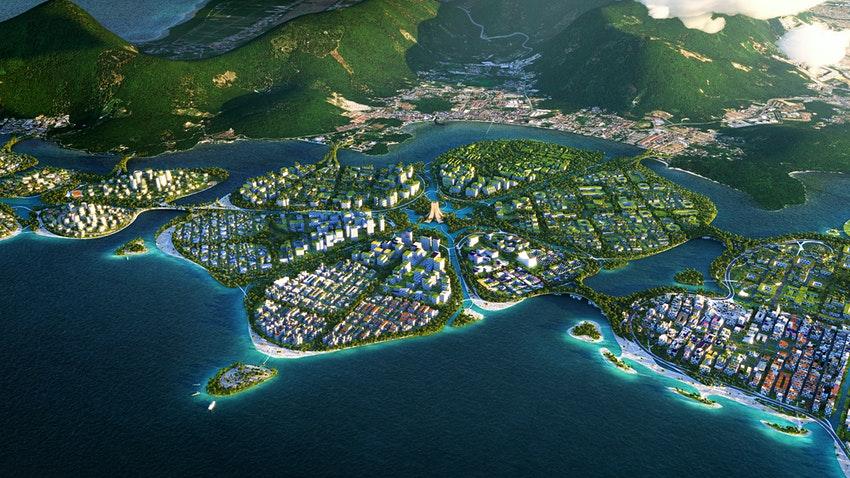 У побережья Малайзии появятся рукотворные эко-острова.Вокруг Света. Украина