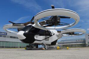 Airbus готовится запустить летающее такси в Германии