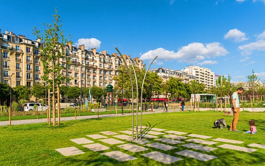 Париж озеленение