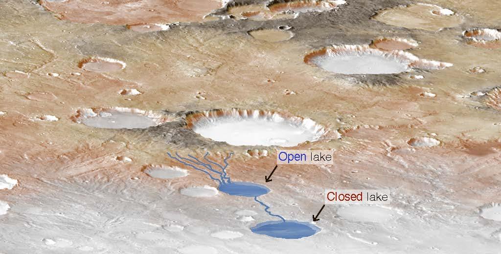 4 миллиарда лет назад на Марсе выпадали обильные дожди