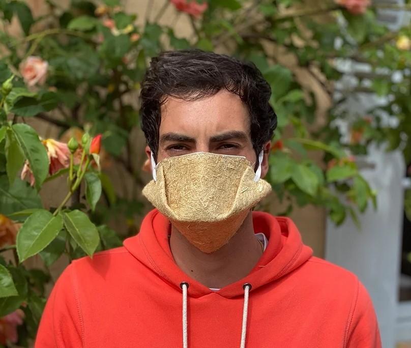 Во Франции появились защитные маски из конопли.Вокруг Света. Украина