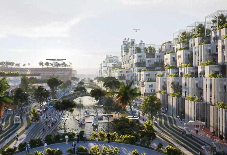 В Малайзии построят чудо-город на искусственных островах