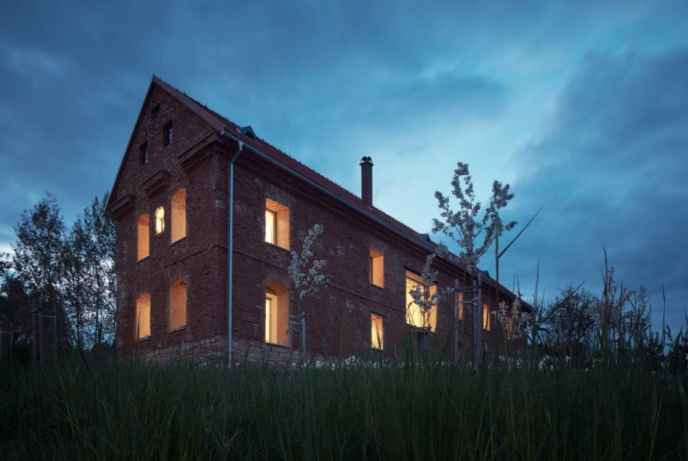 В Чехии внутри особняка XVII века построили современный дом.Вокруг Света. Украина