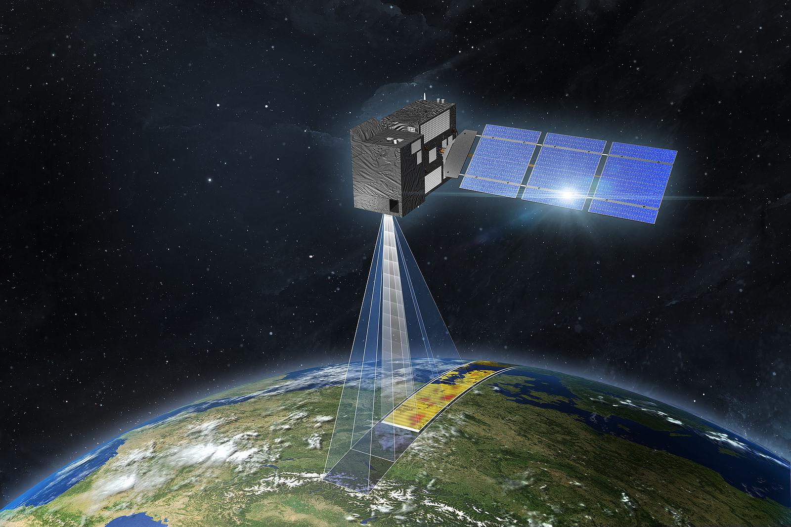 Европейские спутники составят карты глобальных выбросов СО2