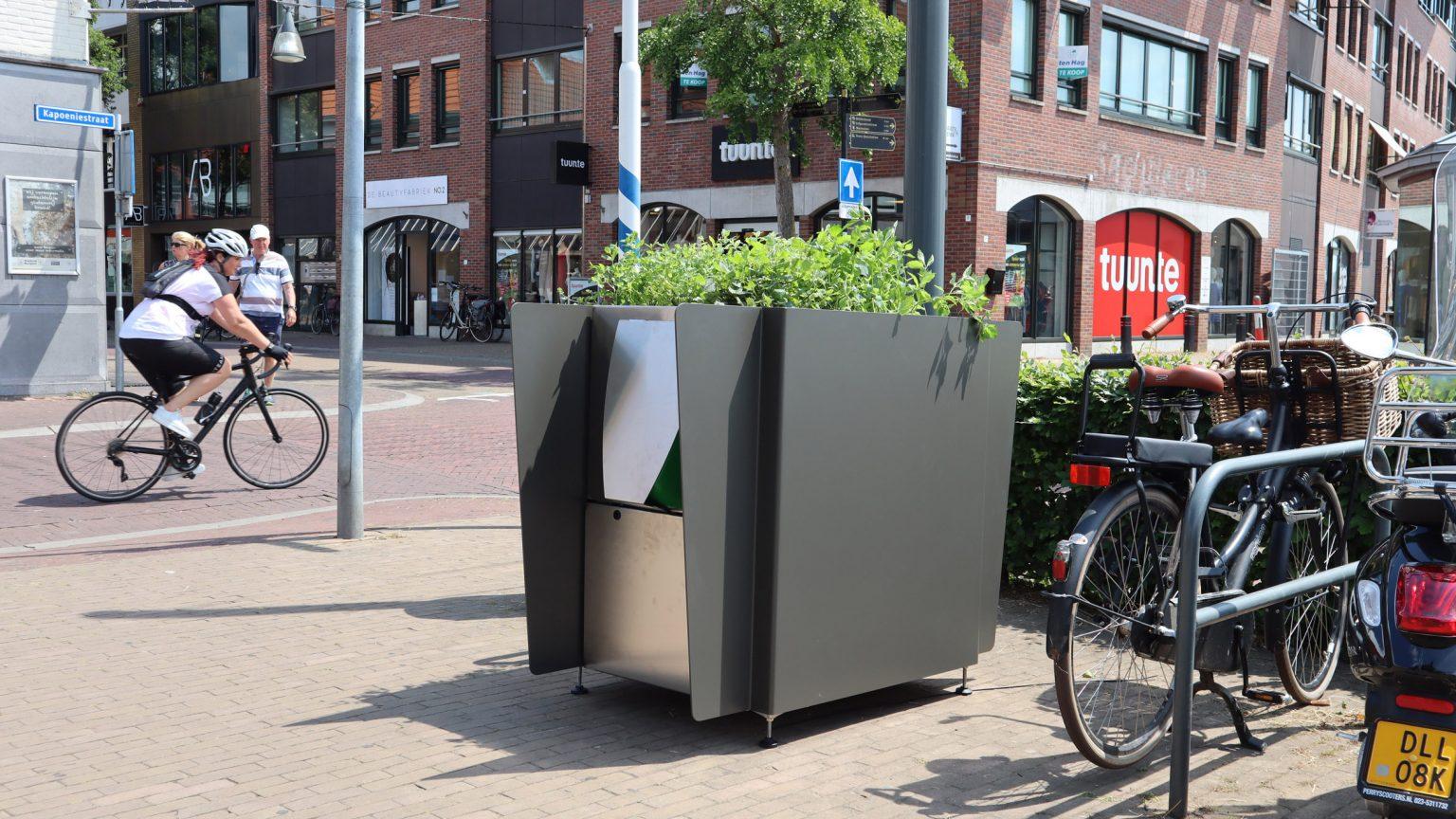 В центре Амстердама установили эко-писсуары с каннабисом