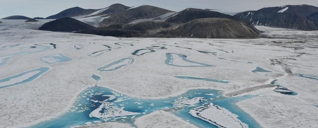 В Канаде разрушился последний неповрежденный шельфовый ледник.Вокруг Света. Украина