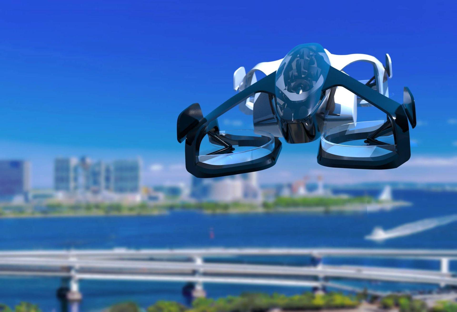 Японцы показали будущее с аэротакси