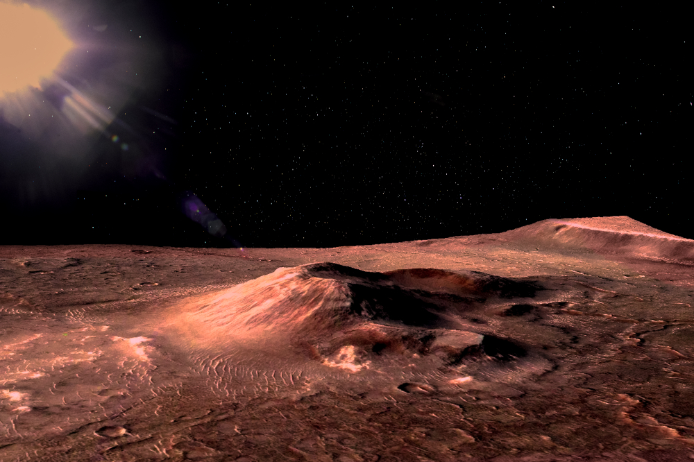 Марсианский город можно построить в лавовой трубе.Вокруг Света. Украина